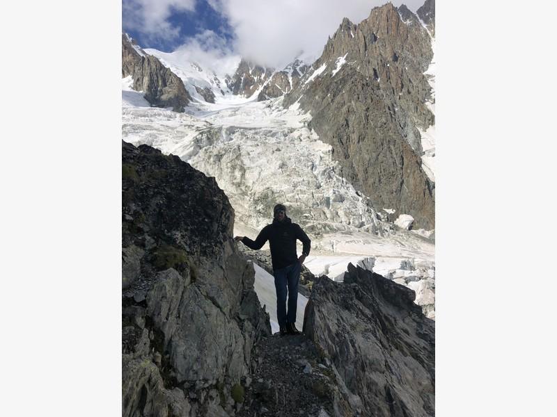 monte bianco dal rifugio gonella via normale italiana alpinismo guide alpine proup (80)