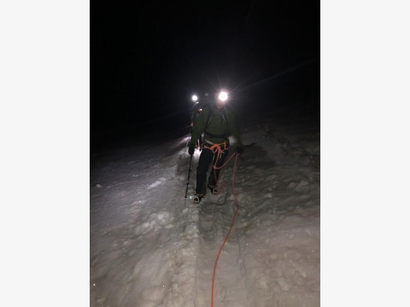 monte bianco dal rifugio gonella via normale italiana alpinismo guide alpine proup (83)
