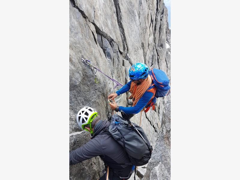traversata aiguille marbrees guide alpine proup alpinismo arrampicata (1)