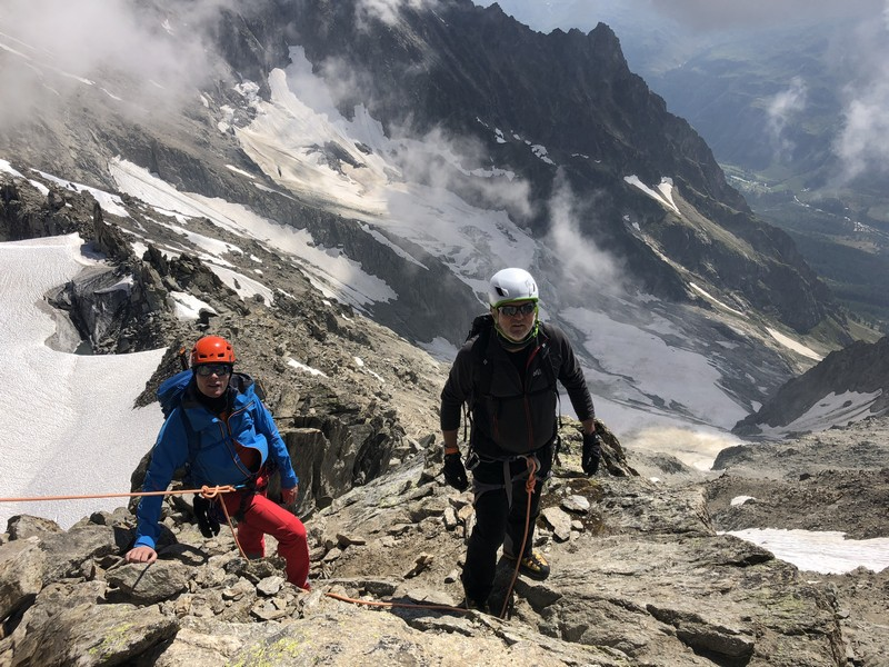 traversata aiguille marbrees guide alpine proup alpinismo arrampicata (11)