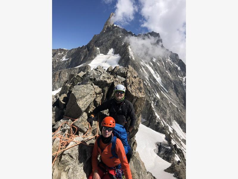 traversata aiguille marbrees guide alpine proup alpinismo arrampicata (12)