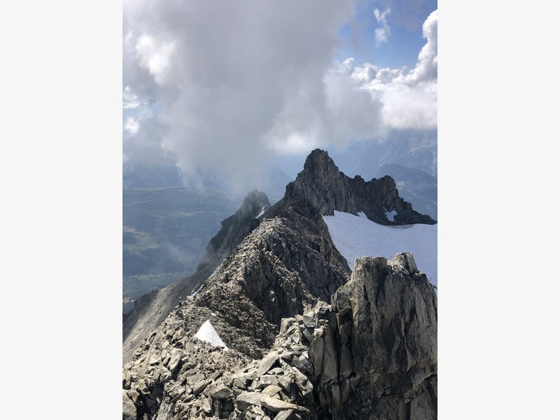 traversata aiguille marbrees guide alpine proup alpinismo arrampicata (14)
