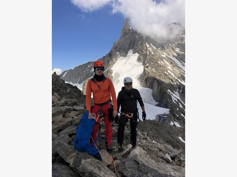 traversata aiguille marbrees guide alpine proup alpinismo arrampicata (17)