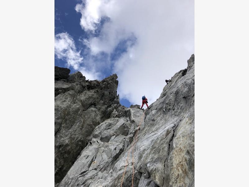traversata aiguille marbrees guide alpine proup alpinismo arrampicata (21)