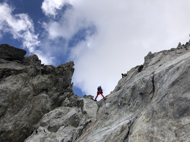 traversata aiguille marbrees guide alpine proup alpinismo arrampicata (26)