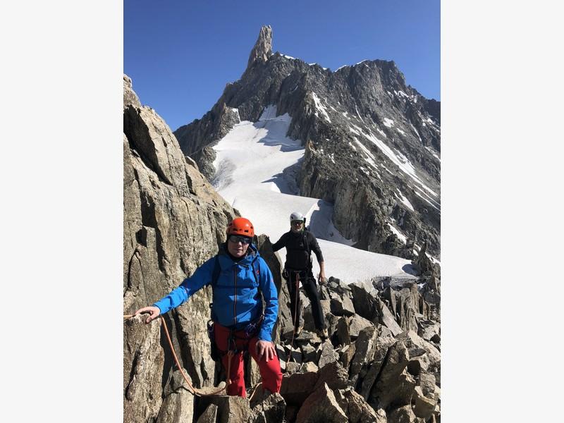 traversata aiguille marbrees guide alpine proup alpinismo arrampicata (8)