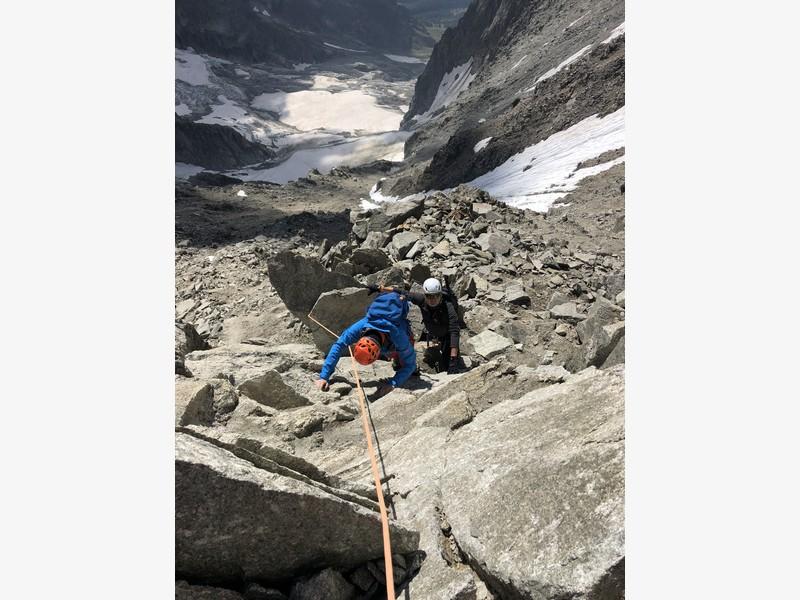 traversata aiguille marbrees guide alpine proup alpinismo arrampicata (9)