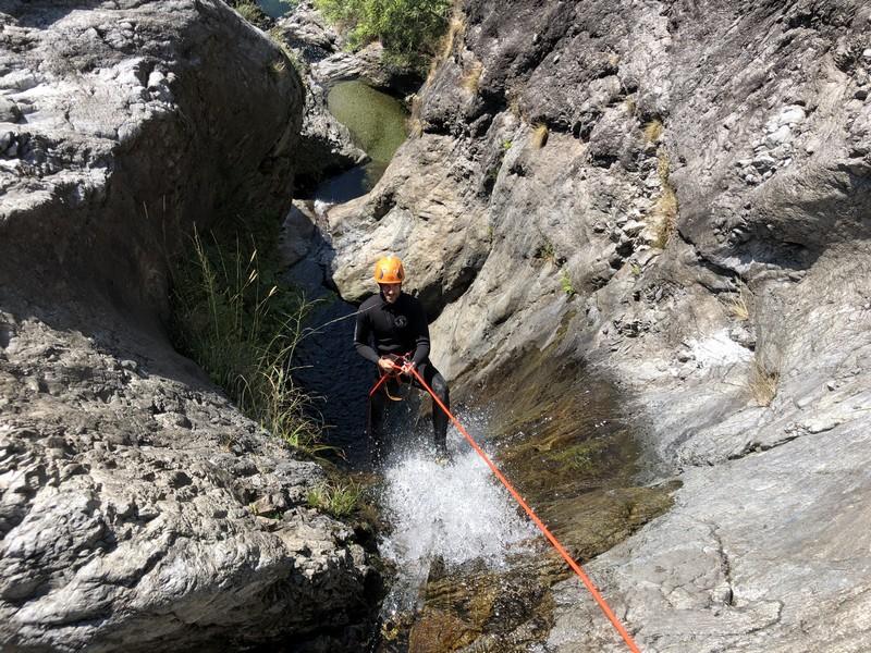 canyoning rio del ponte premosello guide alpine proup (10)