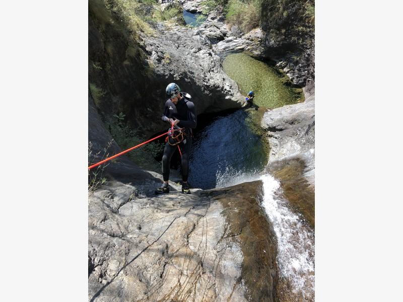 canyoning rio del ponte premosello guide alpine proup (13)