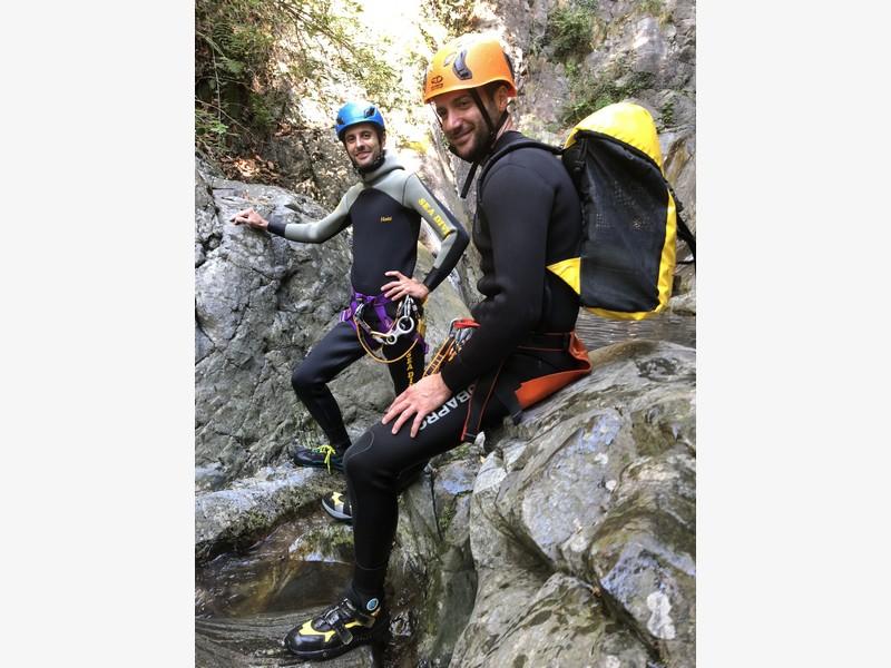 canyoning rio del ponte premosello guide alpine proup (2)