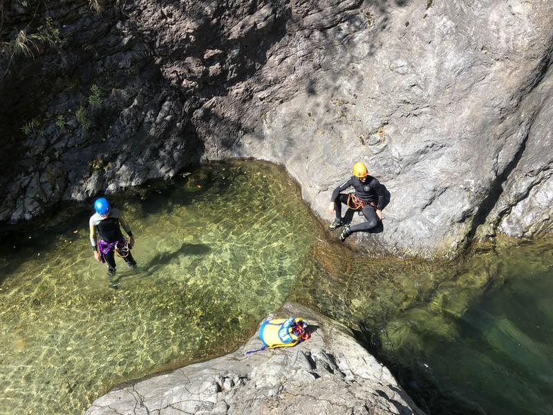 canyoning rio del ponte premosello guide alpine proup (20)
