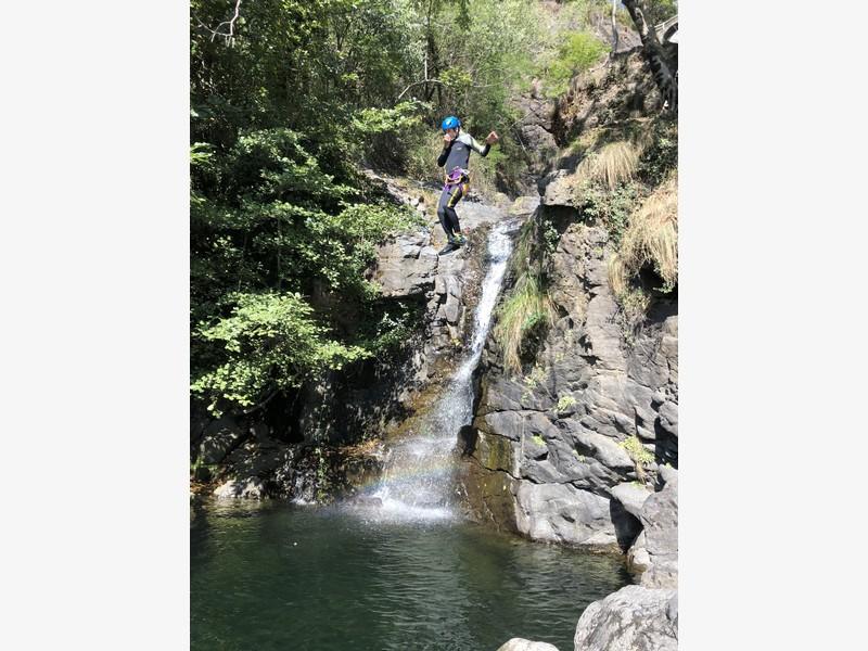 canyoning rio del ponte premosello guide alpine proup (23)