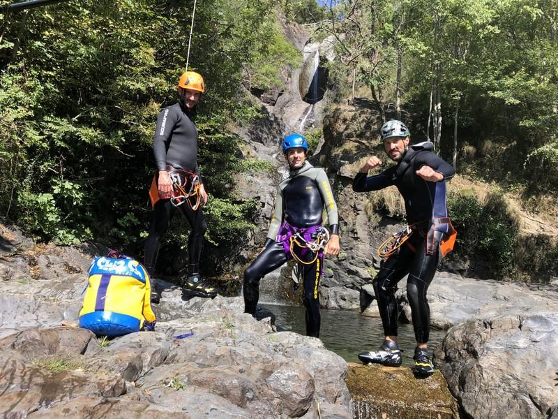 canyoning rio del ponte premosello guide alpine proup (24)