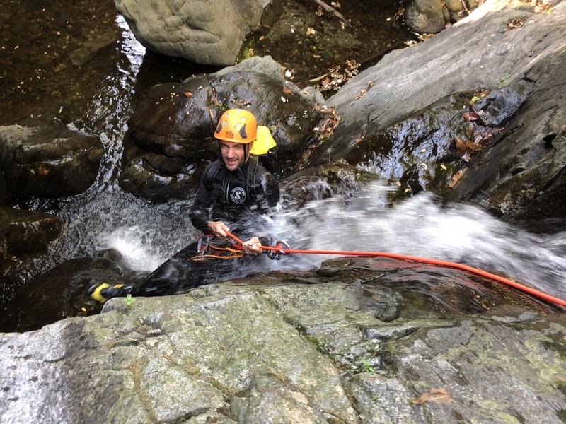 canyoning rio del ponte premosello guide alpine proup (3)