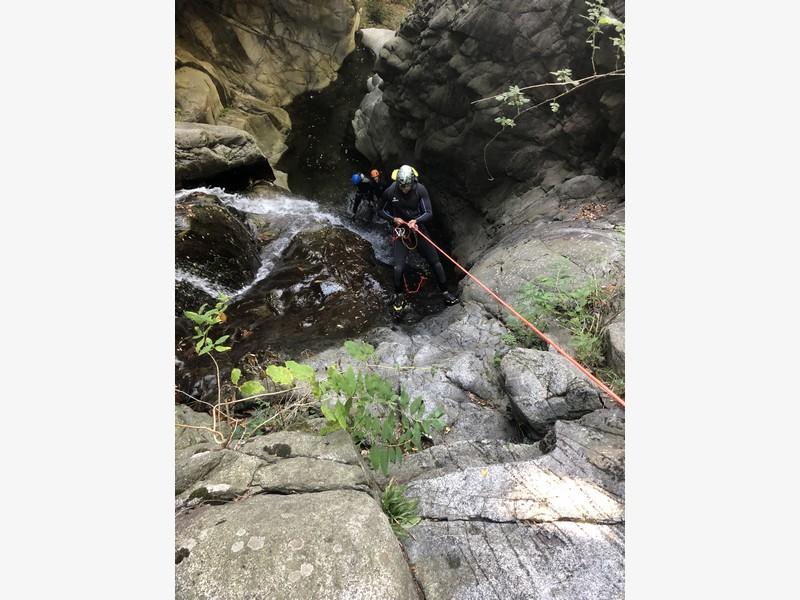 canyoning rio del ponte premosello guide alpine proup (30)