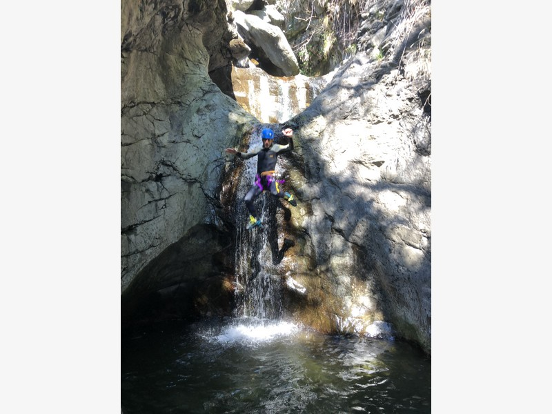 canyoning rio del ponte premosello guide alpine proup (6)