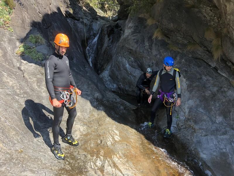 canyoning rio del ponte premosello guide alpine proup (7)