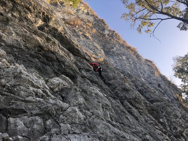 arrampicata guide alpine proup varese falesia sangiano (1)
