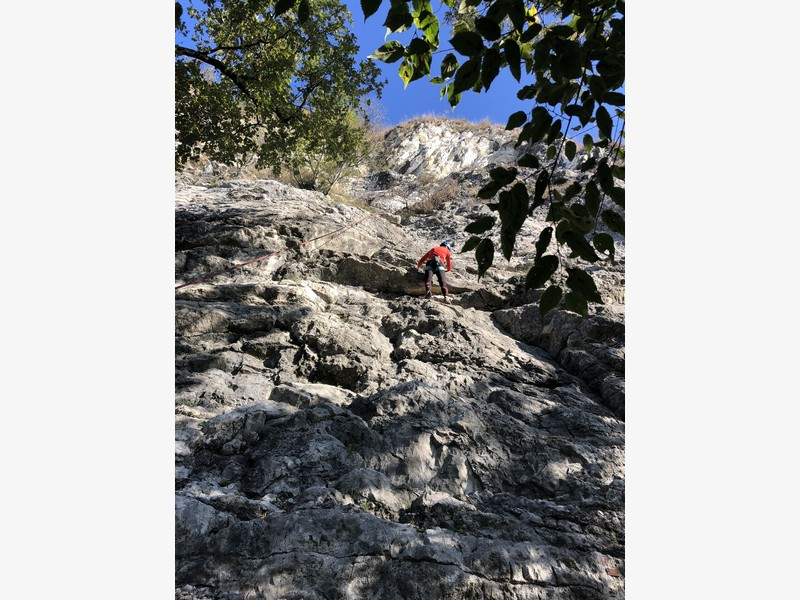 arrampicata guide alpine proup varese falesia sangiano (3)