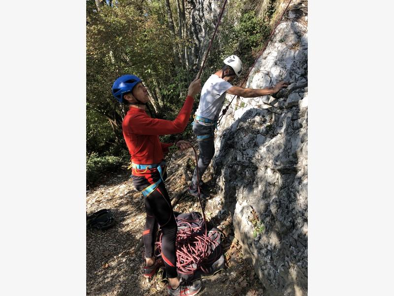 arrampicata guide alpine proup varese falesia sangiano (5)