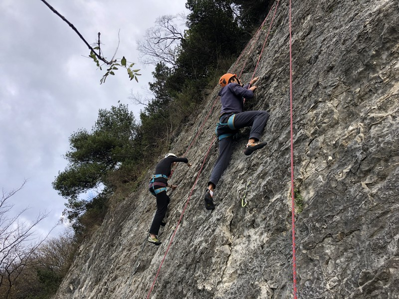 arrampicata falesia santa caterina guide alpine proup (10)