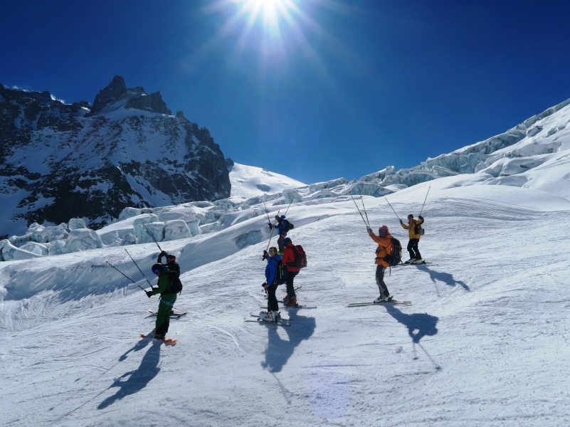 vallee blanche guide alpine proup