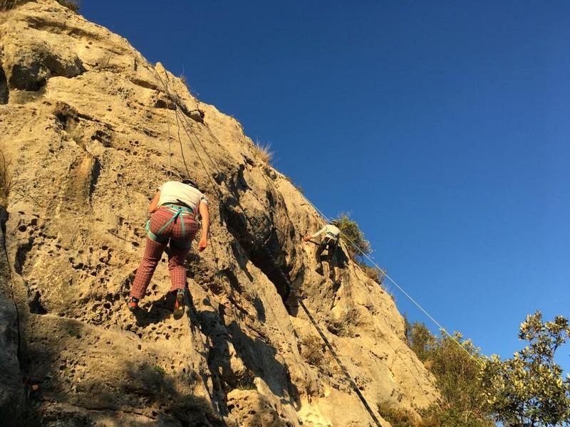 finale ligure arrampicata guide alpine proup 100 corde falesia 3 porcellini (13)