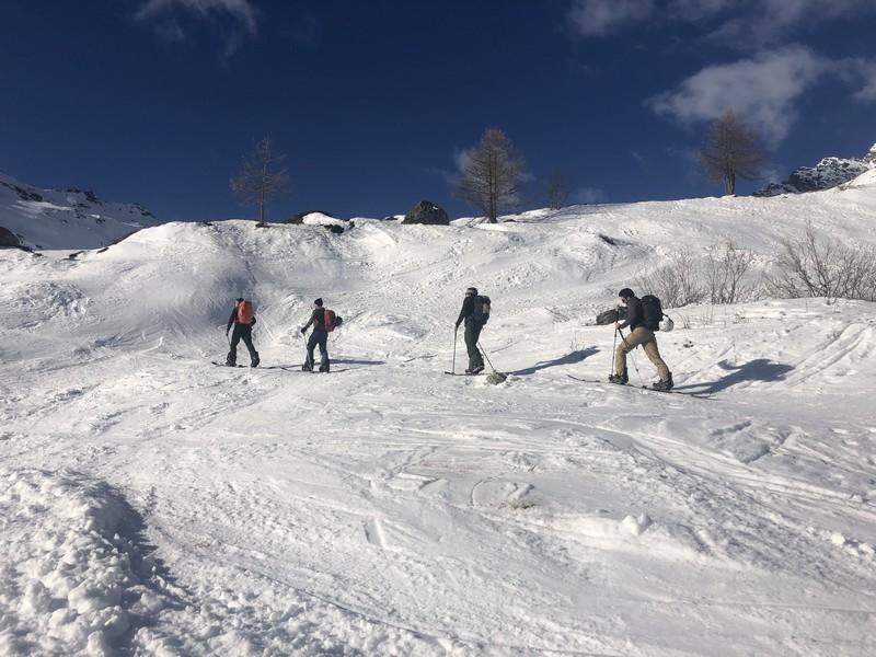 Stage splitboard vaklke aosta arp veille guide alpine proup (10)