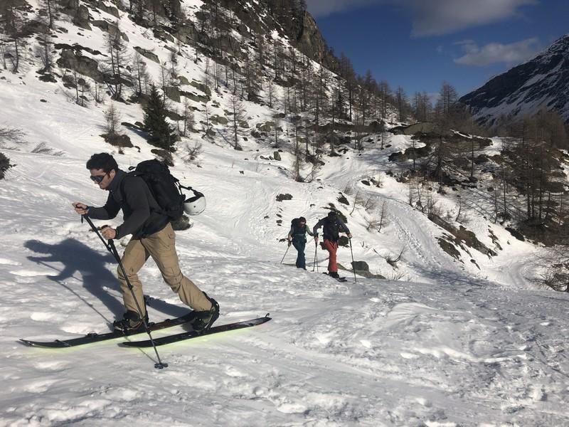 Stage splitboard vaklke aosta arp veille guide alpine proup (8)