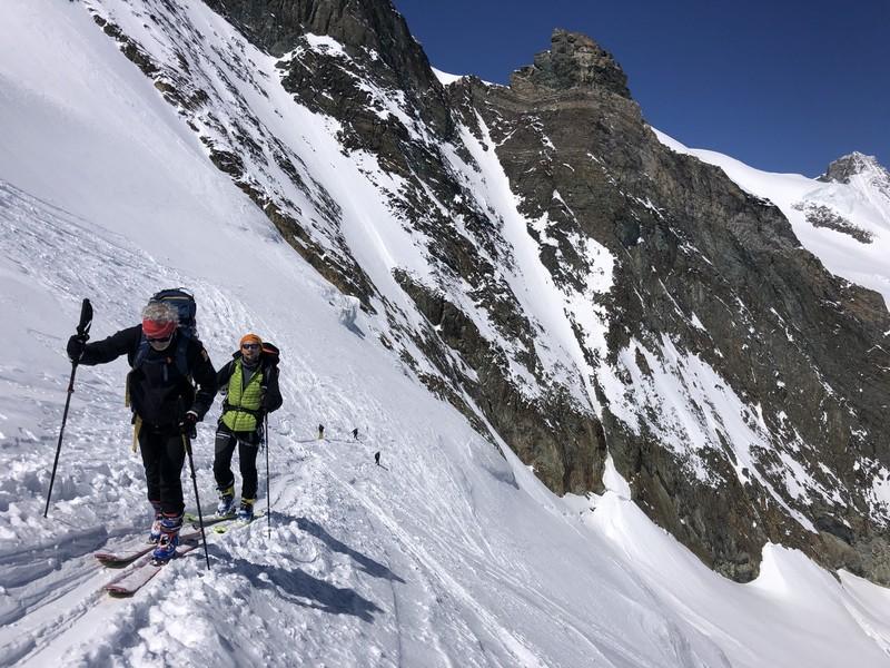 allalinhorn scialpinismo 4000 guide alpine proup (13)