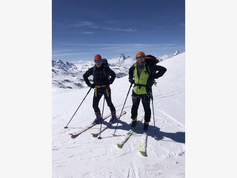allalinhorn scialpinismo 4000 guide alpine proup (22)
