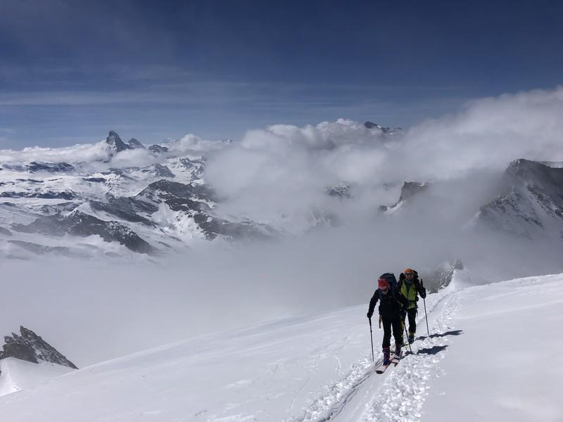 allalinhorn scialpinismo 4000 guide alpine proup (25)