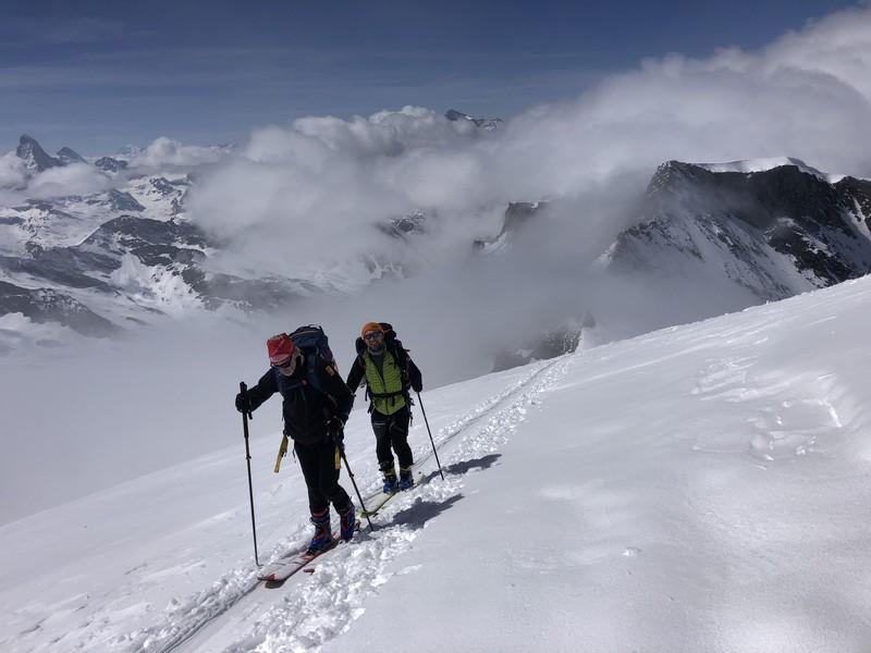 allalinhorn scialpinismo 4000 guide alpine proup (26)
