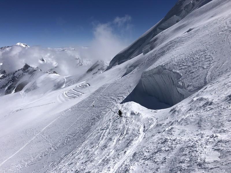 allalinhorn scialpinismo 4000 guide alpine proup (8)