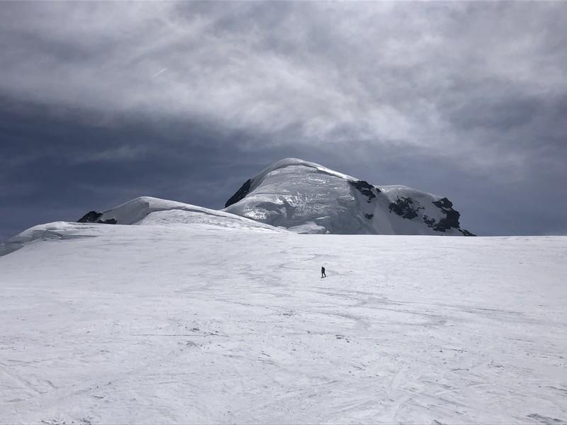 breithorn porta nera scialpinismo freeride guide alpine proup (10)
