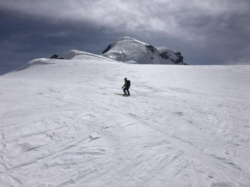 breithorn porta nera scialpinismo freeride guide alpine proup (12)