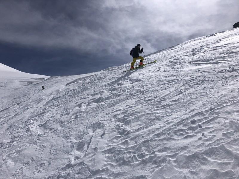 breithorn porta nera scialpinismo freeride guide alpine proup (14)