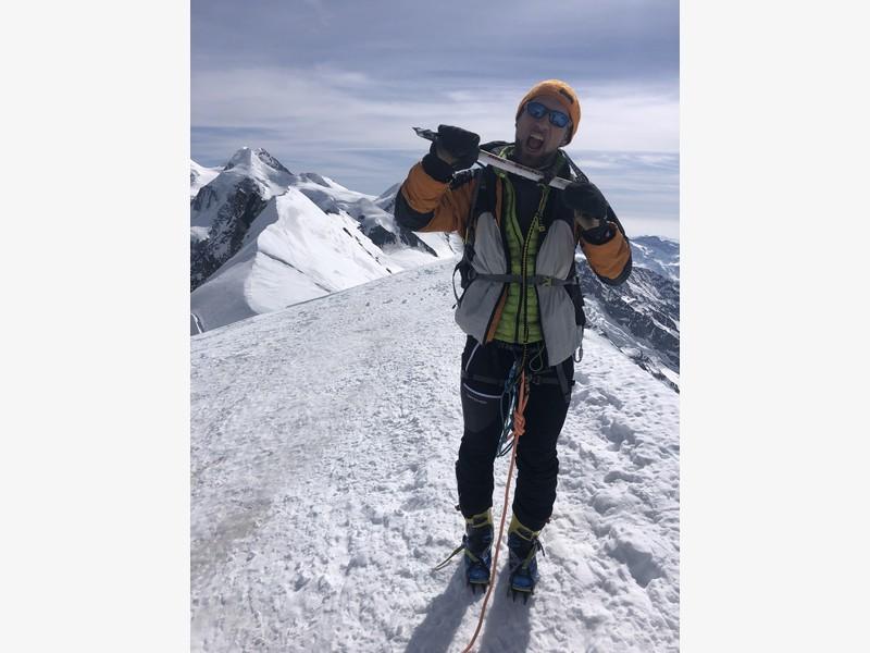 breithorn porta nera scialpinismo freeride guide alpine proup (6)