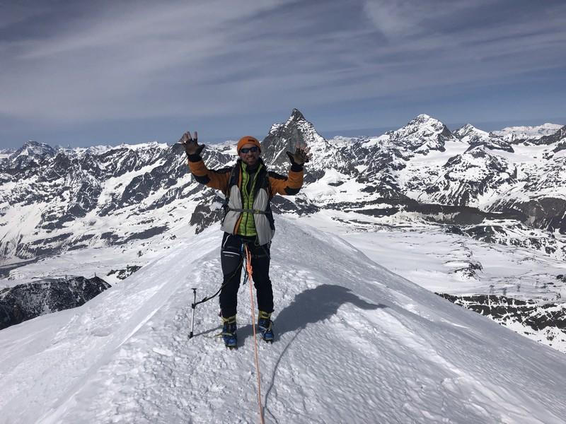 breithorn porta nera scialpinismo freeride guide alpine proup (7)